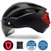 VICTGOAL Bike Helmet (Black)