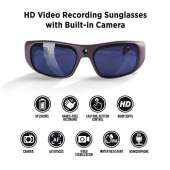 GoVision Apollo 1080p HD Camera Glasses - Warm Grey