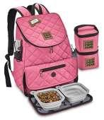 Overland Dog Gear Weekender Backpack (Pink)