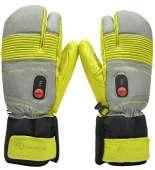Savior Heated Gloves - XS, Green