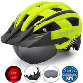 VICTGOAL Bike Helmet (Yellow)