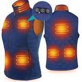 ARRIS Heated Vest for Women - BLUE