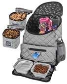 Mobile Dog Gear, Dog Travel Bag (Gray)