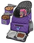 Mobile Dog Gear, Dog Travel Bag (Purple)