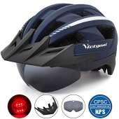 VICTGOAL Bike Helmet (Navy Blue)