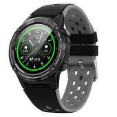 Anmino ASM6C GPS Smart Watch - BLACK/GRAY