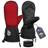 Ravean Heated Ski Gloves & Mittens - 7.4v Rechargeable Battery, 3M Thinsulate Insulation for Men & Women