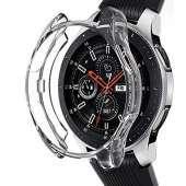 Samsung Galaxy Watch NaHai TPU Slim Plated Case - Crystal Clear