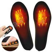 V.Step Alternate - upstartech Heated Insole Wireless Foot Warmer Electric Heated Heated Shoes Insoles Foot Warmer Multiple Sizes for Women Men Winter Outdoor Hunting/Fishing/Shoveling Snow