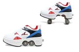 Deformable Sports Roller Skates