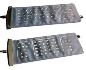 Double sided Fabric Keyboard from Eleksen 9