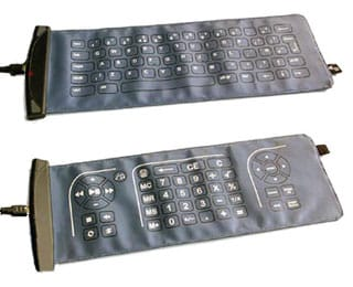 Double sided Fabric Keyboard from Eleksen 8