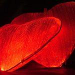Luminous Fiber Optic Heart Pillow 2