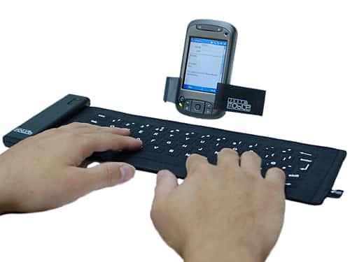 Mobis RoKy wireless fabric keyboard 9