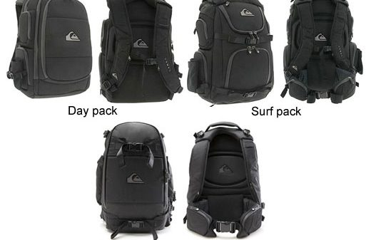 Quiksilver Premium Backpacks with NXT sound system and iPod control 5