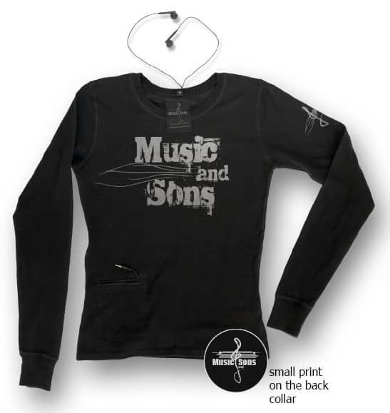 MUSIC and SONS Environmentally Friendly T-Shirts 6