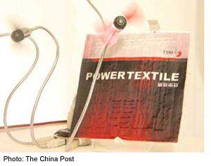 Solar Power Textile Foldable Capacitor 10