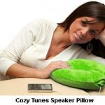 Sweet dreams with the Pillow Speaker pillow 2