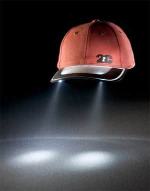 2CLight Solar Hat Light 2