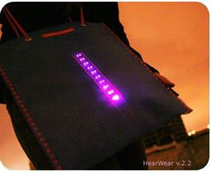 HearWear Sound Activated Textiles 7