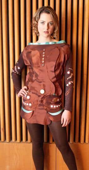 Kinetic Charging Piezing Power-Dress 10