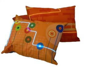 Illuminated City Pillows 4
