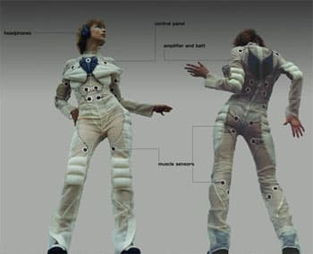 Pacer Suit Makes Music with Movement 8