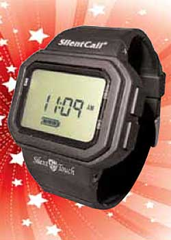 Silent Call Deaf Assistance Silent Touch Watch 12