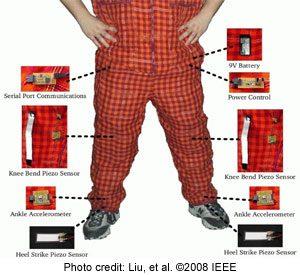 intelligent textile pants