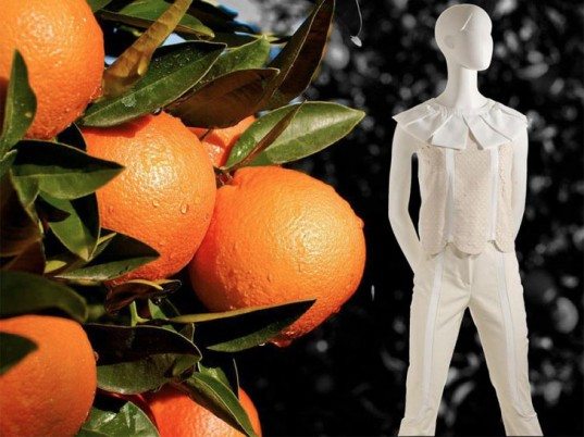 There is a New High Fashion Textile Made From Oranges 2