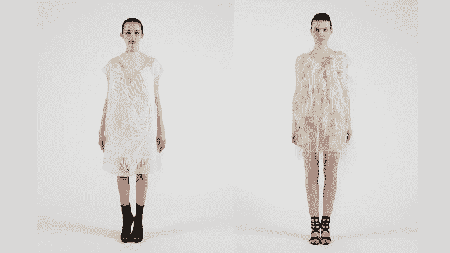 Gaze-Activated Dresses Come to Life When You Stare at Them 2