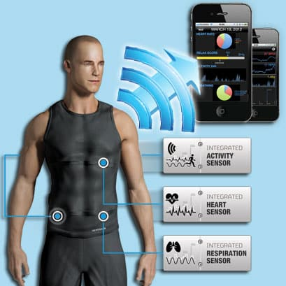 Hexoskin is a Bluetooth Shirt that Keeps Track of Your Vitals 12
