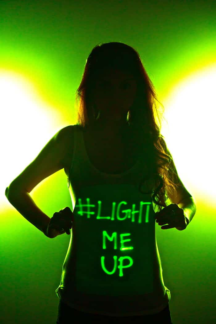 LUM Shirts Light Up With Whatever Your Mind Can Think Up 11
