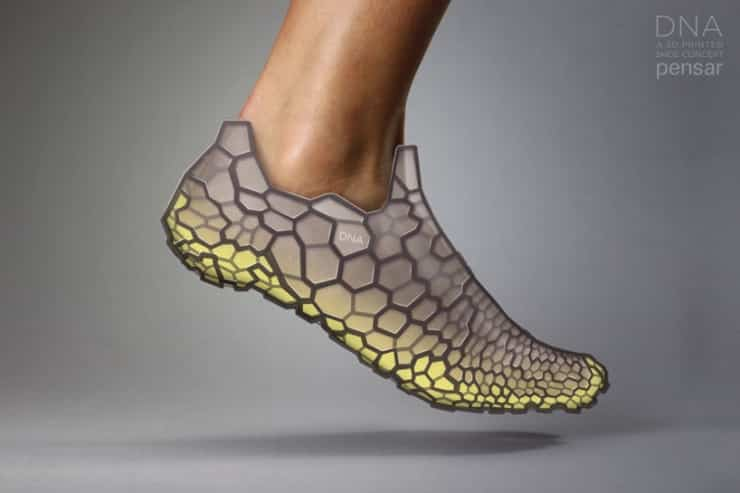 Pensar DNA Shoe is 3D Printed and Designed to Fit Only You 7