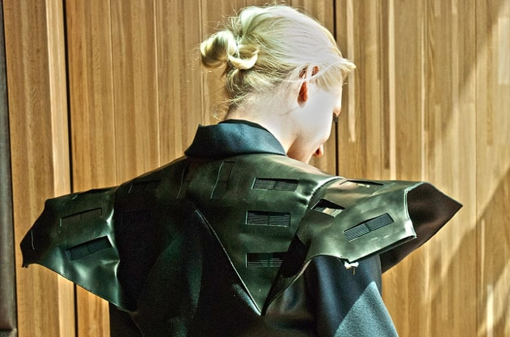 Wearable Solar Dress is Walking the Runway of the Future 10