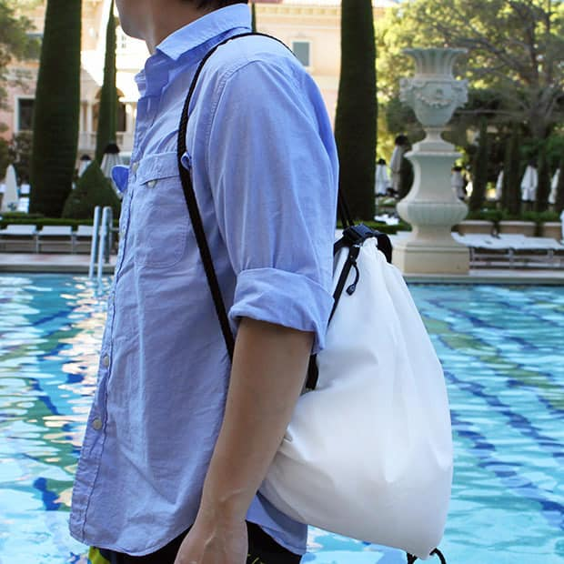 Finally, the Drawstring Backpack to End All Drawstring Backpacks 7