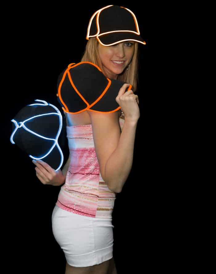 GlowHatters Will Make You the Star of the Party By Making Your Head Glow 7