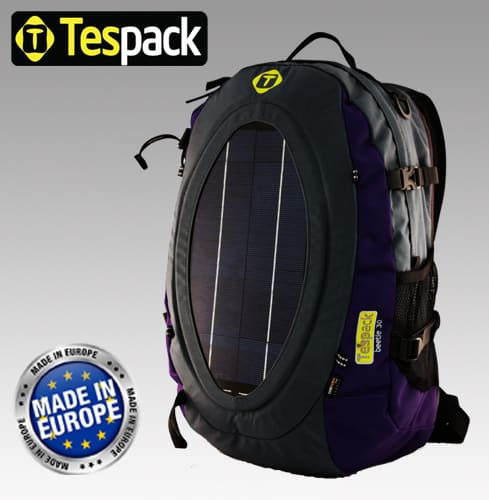 Tespack Creates Line of Backpacks That Charges Gadgets With Solar Power 8