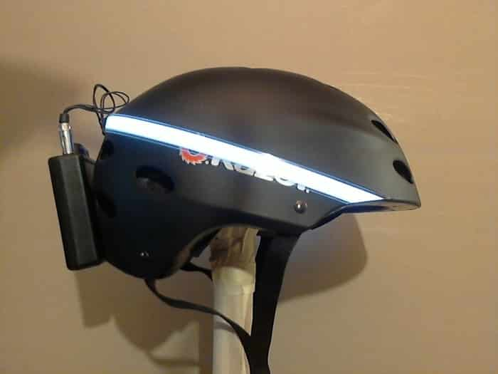 EL Helmet Kit is an Electroluminescent Way to Make Biking Easier 5