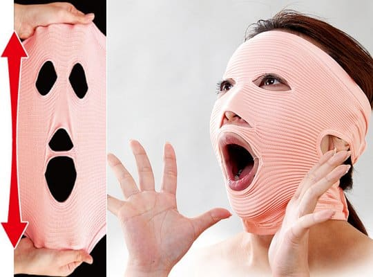 Facewaver Exercises Mask Uses Innovative Fabric to Stretch That Face 8