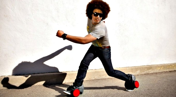Get Around in Style With the spnKiX Motorized Skates 11