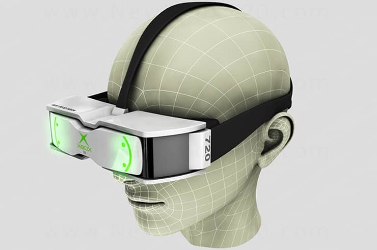 Microsoft Files Patent for Augmented Reality Glasses to be Used With Xbox One 5