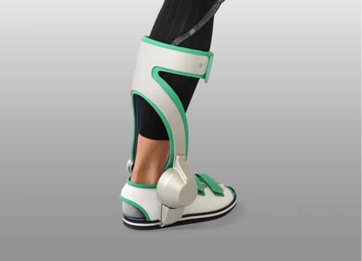 Yaskawa Electric's Ankle Exoskeleton Gives You Strength 9