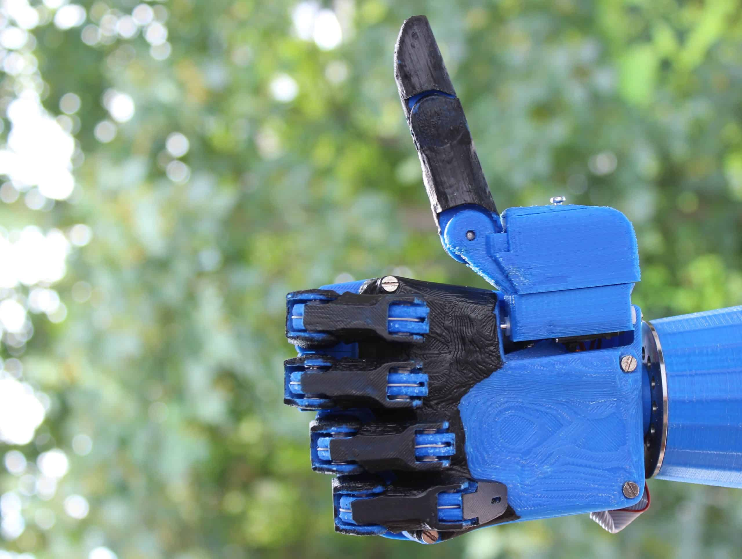 This 3D-Printed Prosthetic Hand is Robotically Cool 6