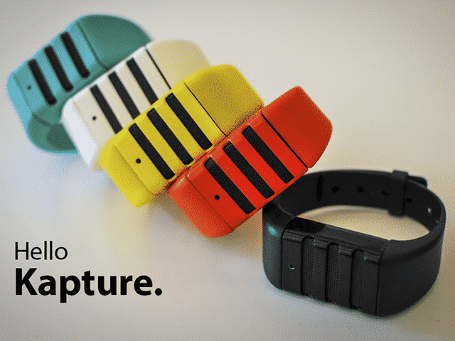 Capture Audio With Kapture Wristband 9