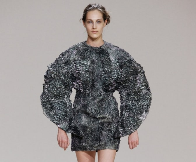This Dress is Made From Magnets and Iron 1