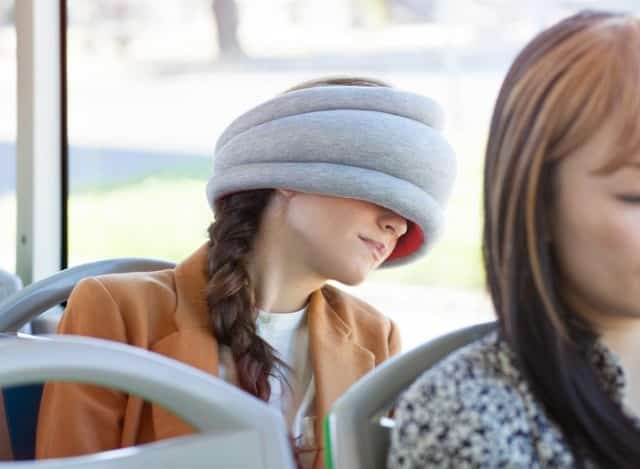 Ostrich Pillow Light is the Ultimate Place to Take a Nap 1