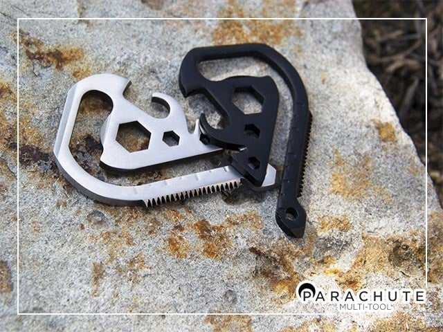 Parachute Multi-Tool Device Hangs on Your Belt 7
