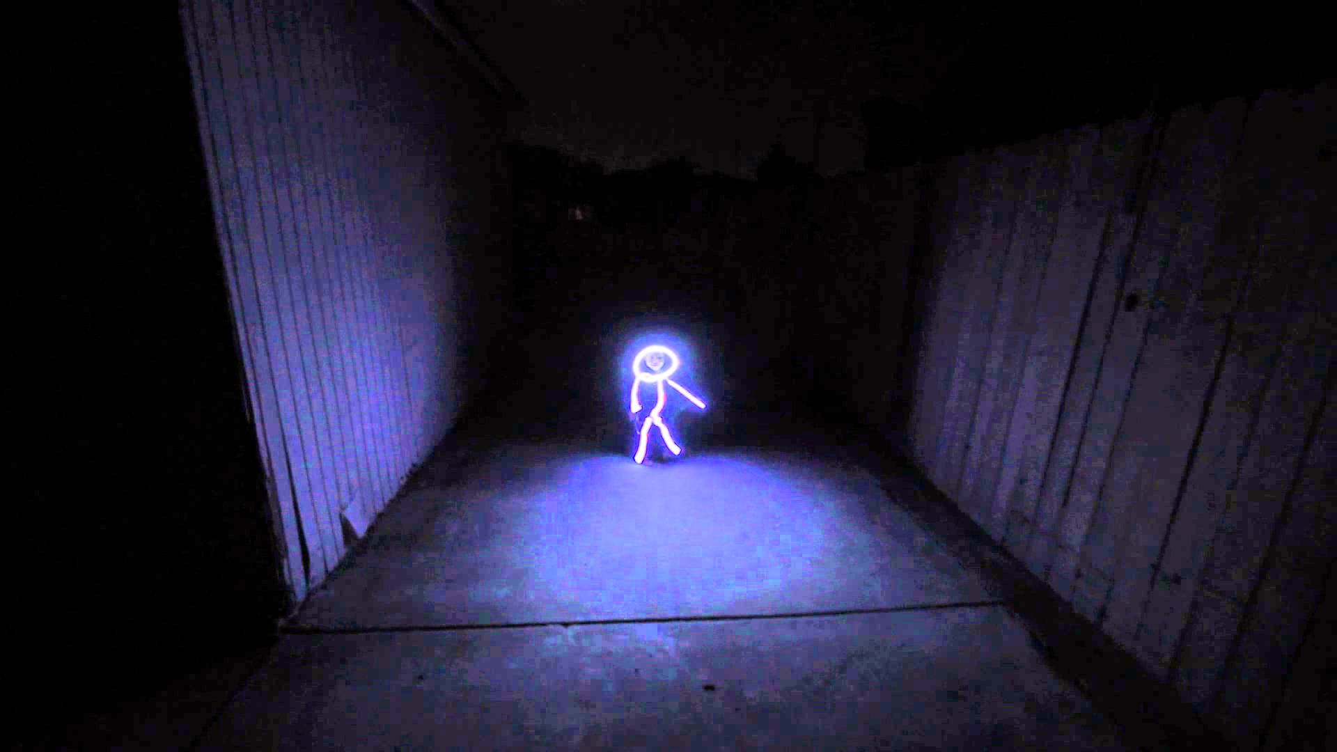 These Costumes Turn You Into a Giant LED Stick Figure 2