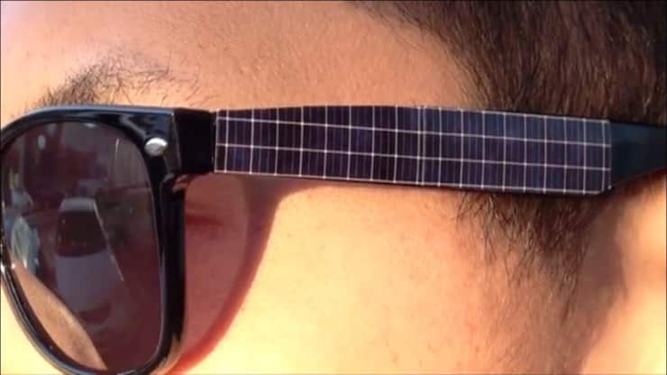 These Sunglasses Use Solar Power to Charge Your iPhone 6
